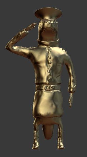otter animate 3D model