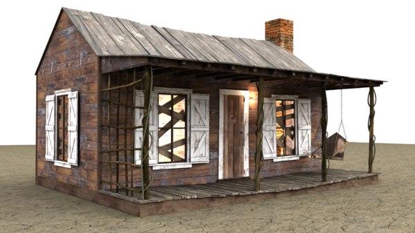 3D cabin evil dead model