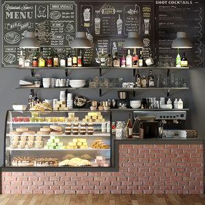 3D food cafes