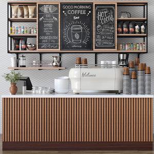 cafes 3D model