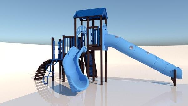 play playground 3D
