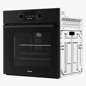 3D realistic oven gorenje bo
