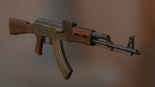 weapon firearm 3D model