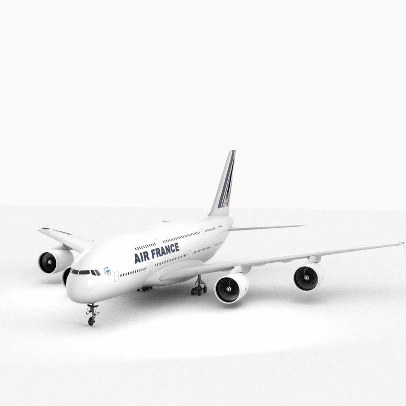 airbus a380 air france model