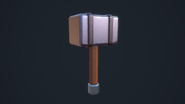 stylized hammer model