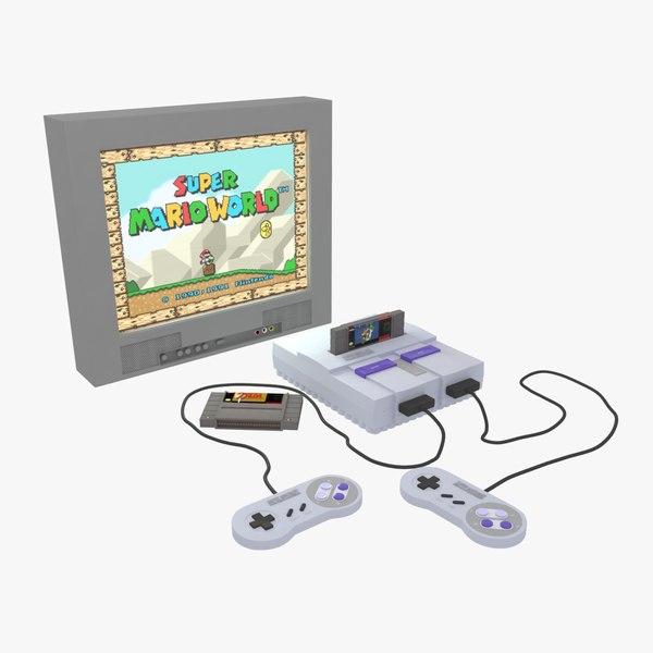 super console controllers 3D model