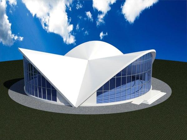 building stadium 3D