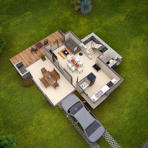 floor plan 3D model