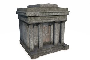 mausoleum 3 3D model