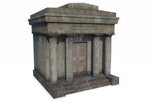 mausoleum pbr 3D