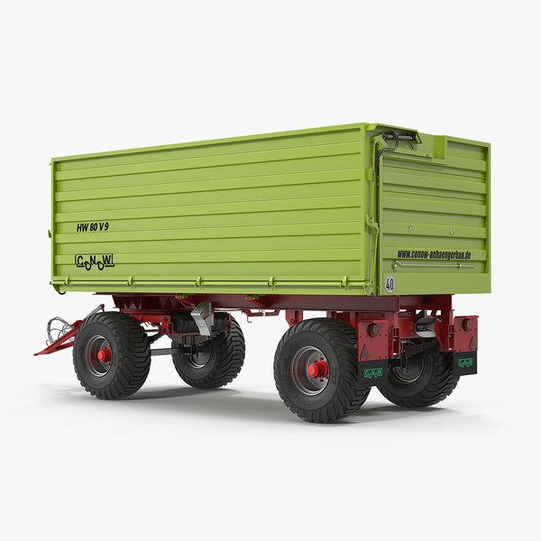 conow hw-80 v9 dump 3D