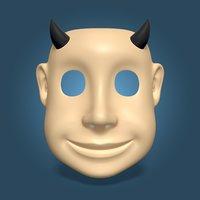 3D model kids mask