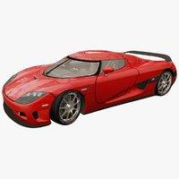 3D realistic car
