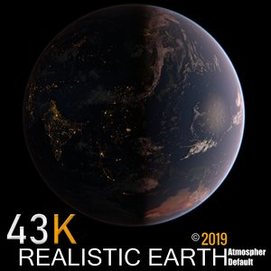 3D 43k earth model