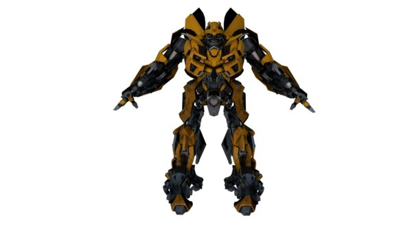 bumblebee 3D model