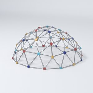 playground dome 3D model