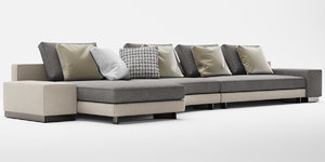 daniel sofa 3D model