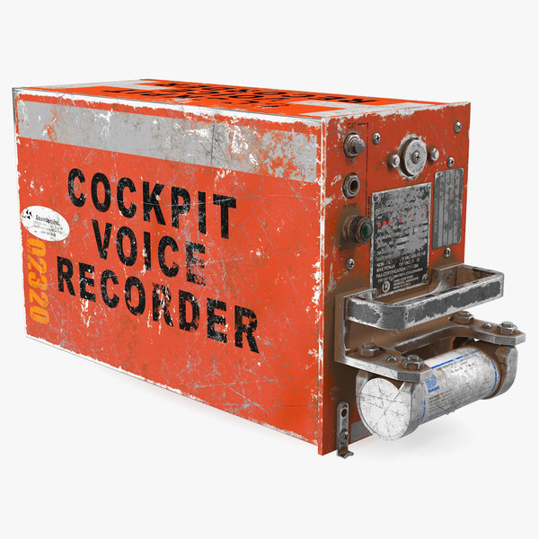 black box recorder crashed model