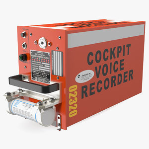 cockpit voice recorder cvr 3D model