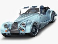 3D model morgan roadster cabriolet