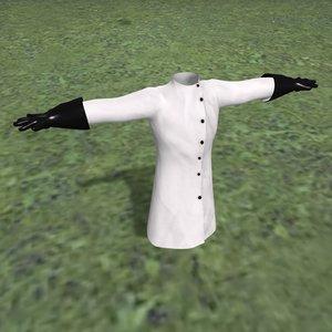 3D mad coat