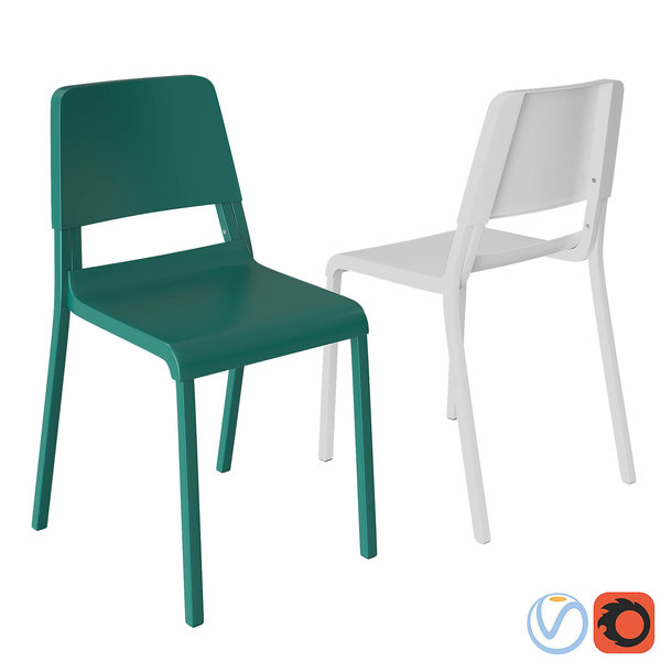 chairs ikea teodores 3D