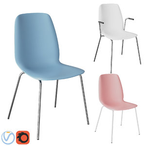 3D chair ikea leifarne model