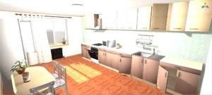 3D vr kitchen - interior