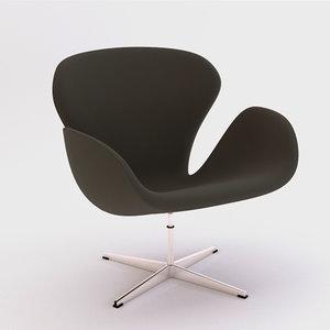 arne jacobsen swan chair model
