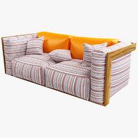 3D model sofa seat