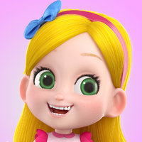 cartoon girl Alice