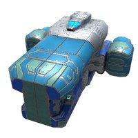 3D plasma corvette
