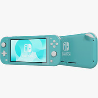 realistic nintendo switch lite model