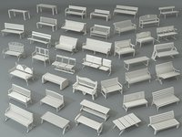 Benches - Part - 1 - 40 pieces