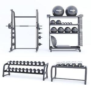3D gym gallery
