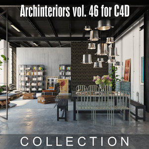 archinteriors vol 46 interior scenes 3D