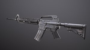 m16a4 rifle 3D model