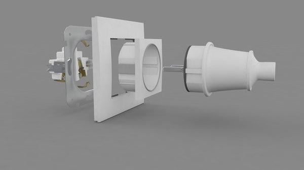 3D plug socket