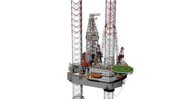 3D platform rig