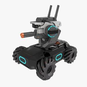 3D dji robomaster s1