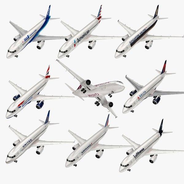 airbus a320 air 1 3D model