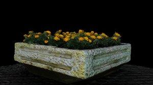 decoration flowers soviet 3D model