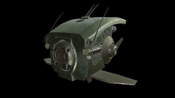military drone scout 3D model