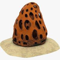 3D model coral