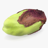 pistachio peeled 3D model
