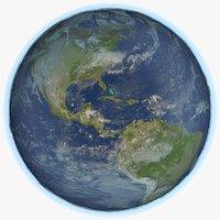 earth 8k 3D