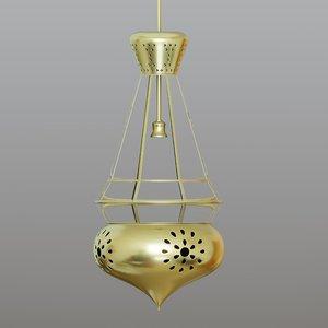 lamp designed 3D model