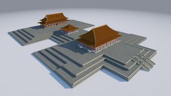 forbidden city 3D