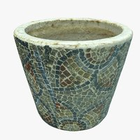plant decoration pot 3D model