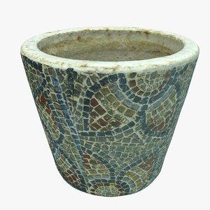plant decoration pot 3D model